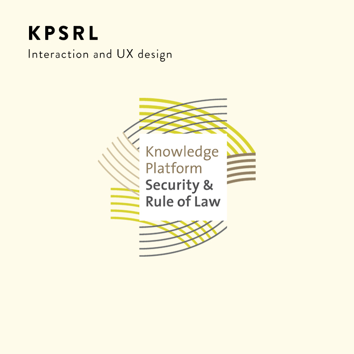 Knowledge Platform Security & Rule of Law interaction design
